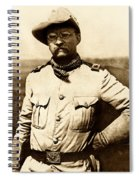 Colonel Theodore Roosevelt Spiral Notebook