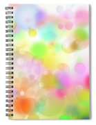 Colorful Abstract 3 Spiral Notebook
