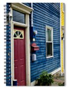 Colorful Houses In St. John's Spiral Notebook