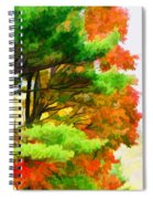3 Colors Of The Nature 1 Spiral Notebook