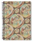 Complex Geometric Pattern Spiral Notebook