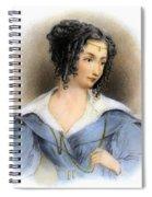 Countess Teresa Guiccioli Spiral Notebook