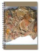 3-d Abstract  Spiral Notebook