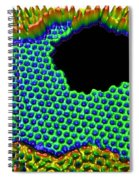 3-d Rendering, Graphene Hole Spiral Notebook