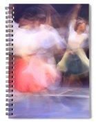Dancers In Motion  Spiral Notebook