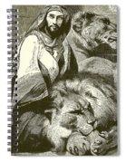 Daniel In The Lions Den Spiral Notebook