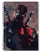 Deadpool Spiral Notebook