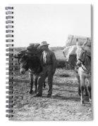 3 Desert Prospectors C. 1900 Spiral Notebook