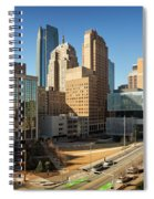 Downtown Okc Spiral Notebook