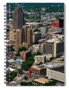 Downtown San Antonio Spiral Notebook