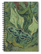 Emperor Moth Spiral Notebook