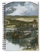 Erie Canal Opening, 1825 Spiral Notebook