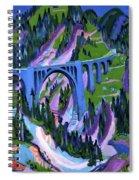 Ernst Ludwig Kirchner Spiral Notebook