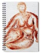 Fat Nude Woman  Spiral Notebook