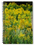 Fence Post Spiral Notebook