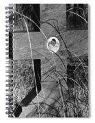 Film Noir Dana Andrews Linda Darnell Fallen Angel 1945 Child's Grave Ghost Town Golden Nm 1972 Spiral Notebook