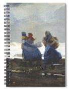 Fishwives  Spiral Notebook