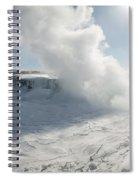 Frozen Niagara Falls Spiral Notebook