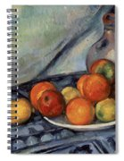Fruit And A Jug On A Table Spiral Notebook