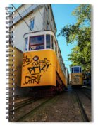 Gloria Funicular, Lisbon, Portugal Spiral Notebook