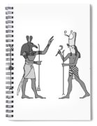 Gods Of Ancient Egypt Spiral Notebook