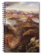 Grand Canyon Of The Colorado River Spiral Notebook