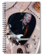 Gregg Allman Art Spiral Notebook