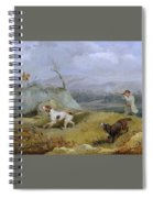 Grouse Shooting Henry Thomas Alken Spiral Notebook