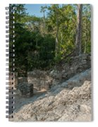 Grupo Coba At The Coba Ruins  Spiral Notebook