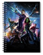 Guardians Of The Galaxy Spiral Notebook