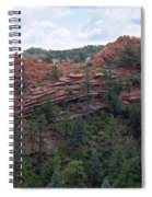 Hiking The Mesa Trail In Red Rocks Canyon Colorado Spiral Notebook