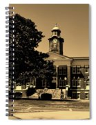 Historic White Hall - Tuskegee University Spiral Notebook