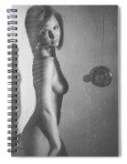 Hot Shower Spiral Notebook