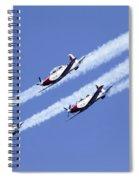 Iaf Acrobatic Team Spiral Notebook