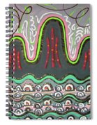 Ilwolobongdo Abstract Landscape Painting2 Spiral Notebook