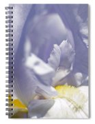 Iris Flowers Spiral Notebook
