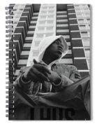 J Hus Spiral Notebook
