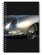 Jaguar E-type Spiral Notebook