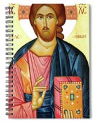 Jesus Teaching Spiral Notebook