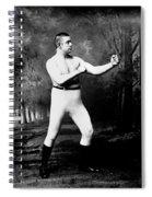 John L. Sullivan (1858-1918) Spiral Notebook