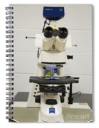 Laboratory Fluorescent Microscope Spiral Notebook