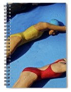 3 Lady Swimmers Spiral Notebook