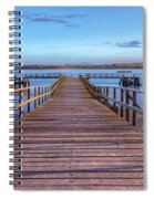 Lake Pier - England Spiral Notebook