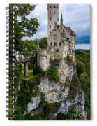 Lichtenstein Castle - Baden-wurttemberg - Germany Spiral Notebook