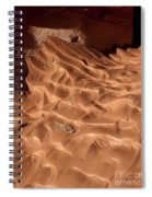 Light And Shadow In Mud Spiral Notebook