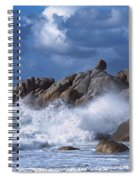 Lighthouse On The Coast, Pontusval Spiral Notebook