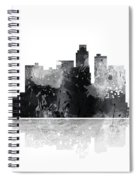Los Angeles California Skyline Spiral Notebook