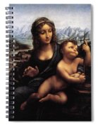 Madonna With The Yarnwinder Spiral Notebook