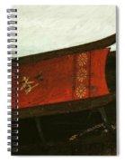 Mais Ou Sont Les Neiges D'antan Spiral Notebook