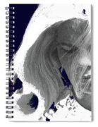 Margie In Repose Tucson Arizona 1969-2012 Spiral Notebook